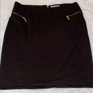 Michael Kors XL brown skirt